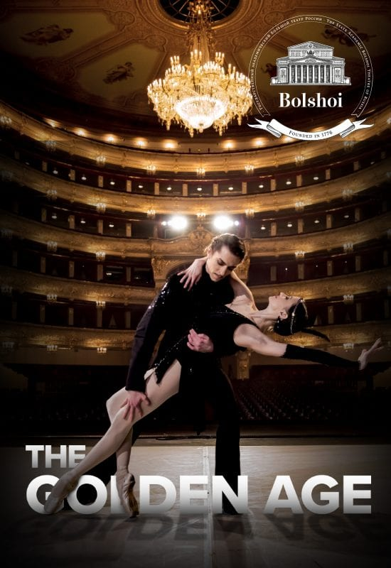 The Golden Age: Bolshoi Ballet in HD | The Ridgefield Playhouse