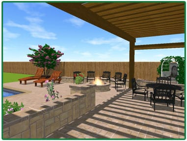 3D Image of Project | Inground Pool Contractor in Twinsburg, OH