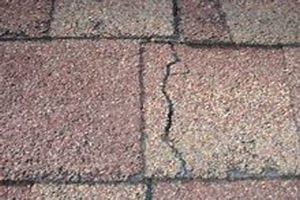 Heat damage to Roof Shingles