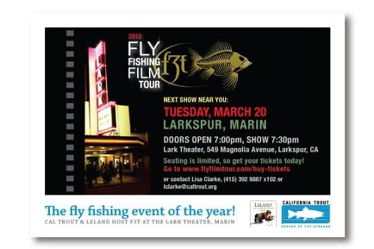 Fly Fishing Film tour, CalTrout style