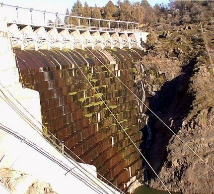 Copco Dam 1 on the Klamath River