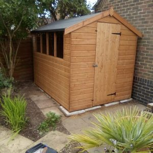 8x6 Greenway Shed