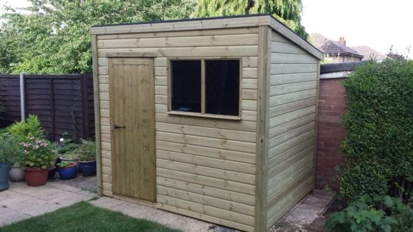 County Pent Shed
