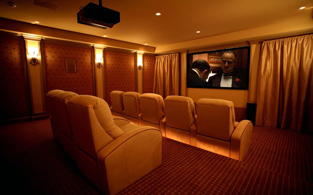 Greenwich, CT Home Theater
