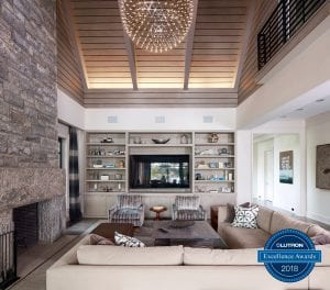 Lutron Excellence Award Best Use of high-performance LED light fixtures, lighting design